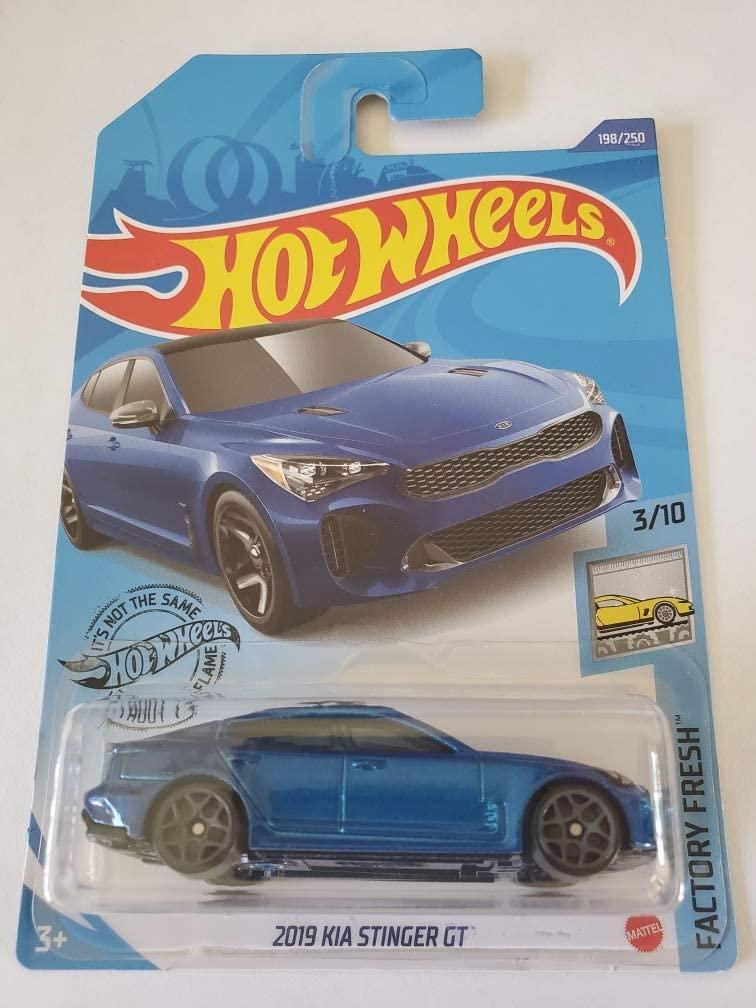 Hot Wheels 2020 Factory Fresh 2019 Kia Stinger GT, Blue 198/250