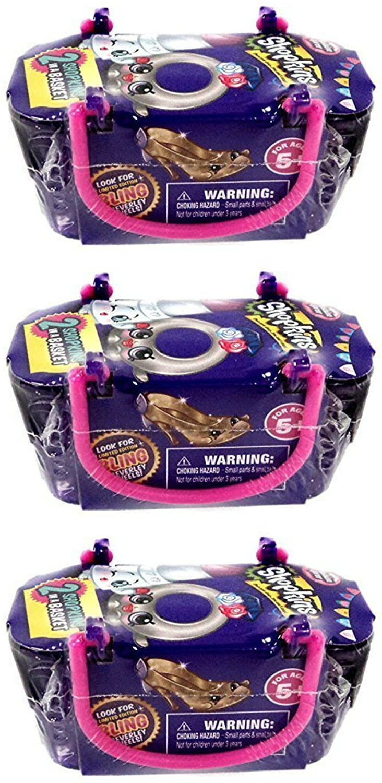 Shopkins Fashion Spree Blind Baskets Bundle Set of 3 Baskets with 6 Shopkins
