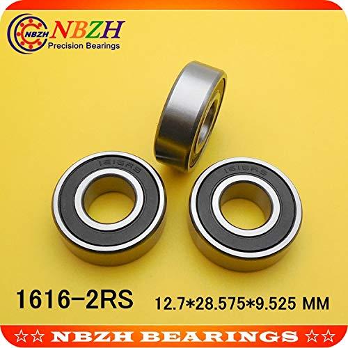 Ochoos 10pcs inch Bearings 1616 1616RS 1616-2RS 1/2