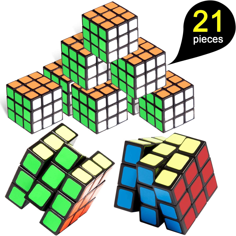 Mini Cube, 21 Pack Mini Cubes, Party Puzzle Game