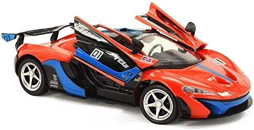Xuess Remote Control Electronic Sports Race Model Stunt Vehicle 1/14 RC Racing Drift 2.4G Radio Controlled Toys Car Open Door Toy 8.2km / H Toys Car Gift for Adults Kids Child