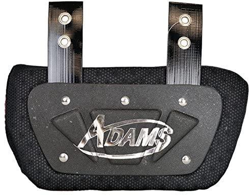 ADAMS USA VS500 Varsity Back Plate for Shoulder Pads Black, Adult