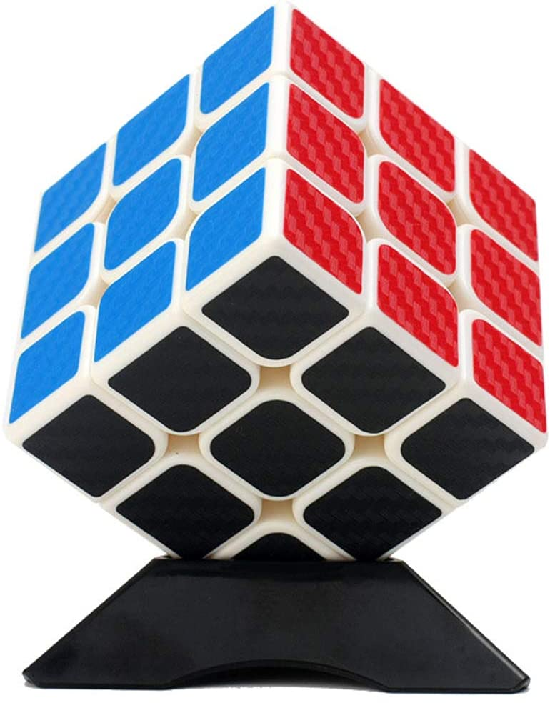 LBFXQ Speed Cube 3X3x3 Magic Cube Puzzle Educational Puzzle Toys Develop Brain Intelligence Relieve Stress Entertainment for Children Adult Education Toys