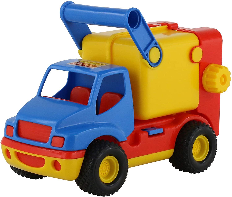 Polesie Polesie8916 Construck Refuse Lorry-Toy Vehicles, Multi Colour