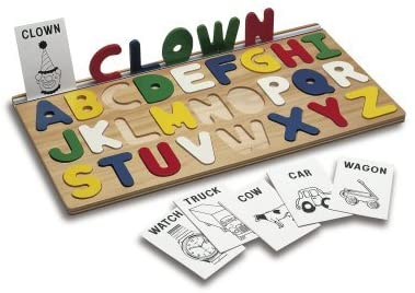 tag CMS23 I Can Spell! Alphabet Puzzle
