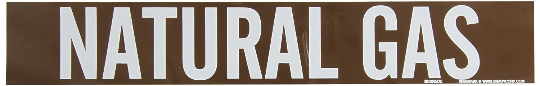 Brady 7395-1 Self-Sticking Vinyl Pipe Marker, B-946, 2 1/4