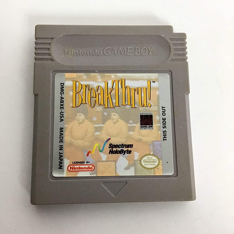 Breakthru: Game Boy