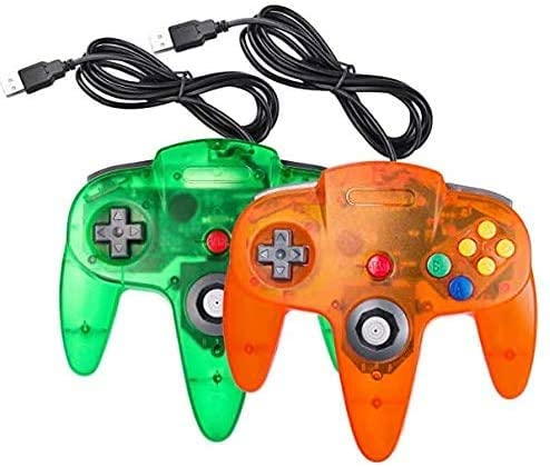2 Packs Controller, King Smart Wired Controllers with Upgraded Joystick for Original Console-3