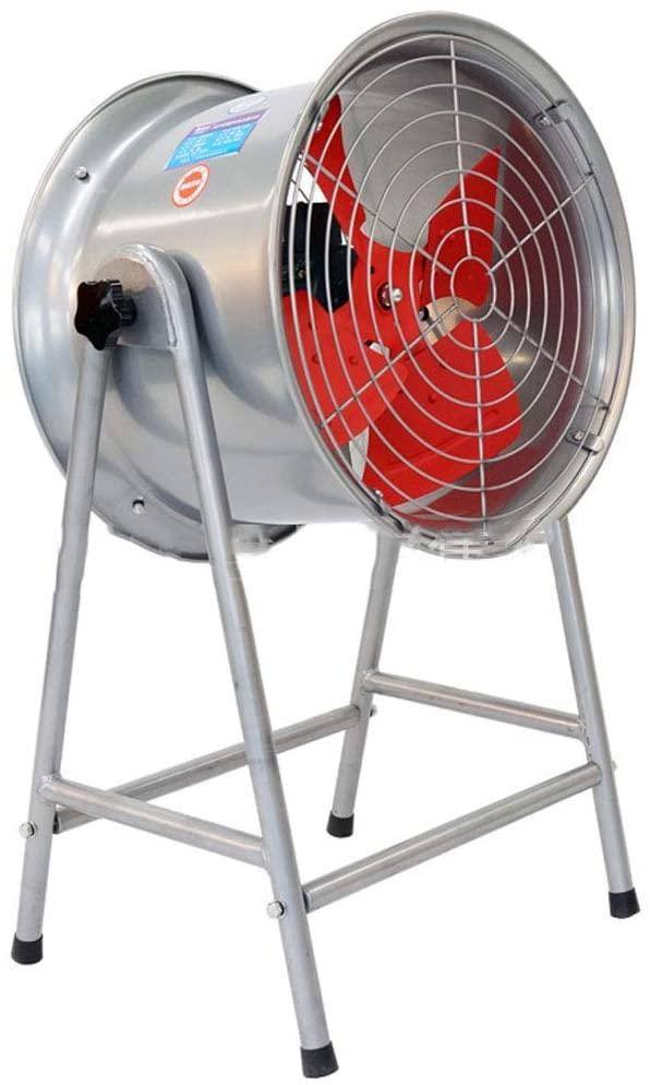 KMMK Home Electric Fan,Industrial Pedestal Fan Oscillation Cooling Fan Industrial/High Power Floor Fan Portable Quiet / 4 Rotor Blades Large Pedestal Stand Fan, Extra Wide Base Heavy Duty