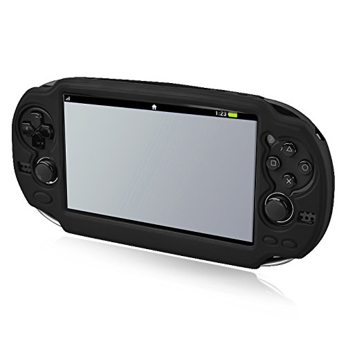 Insten Silicone Skin Case Compatible With Sony PlayStation Vita, Black