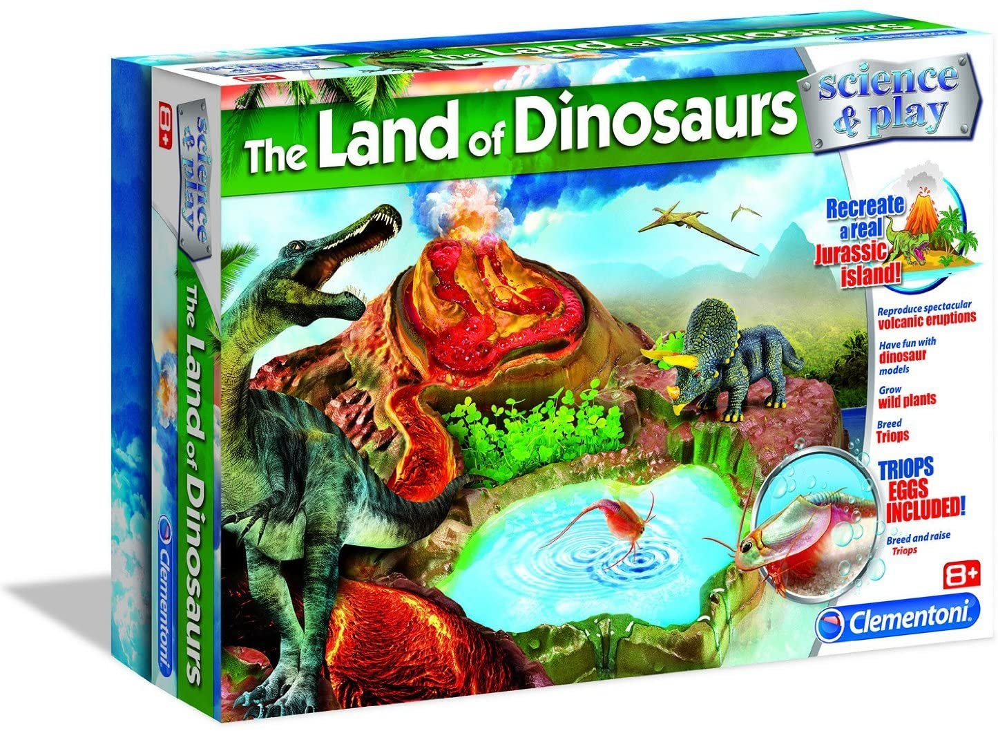 Clementoni The Land of The Dinosaurs