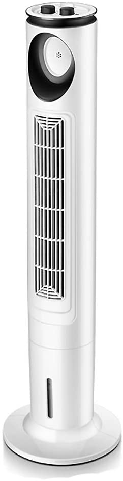 ZPEE 4l Water Tank Air Cooler,3 Wind Speeds Quiet Bladeless Fan,Standing Tower Fan with Knob Control,Oscillating Air Conditioner Fan Machinery