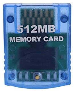 Romsion 512MB Memory Card for Nintend Wii Console Memory Storage Card for Gamecube GC