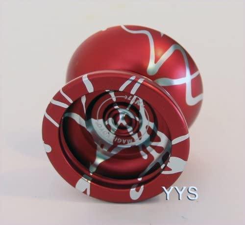 Magic YoYo N11 Yo-Yo - Red with Silver Splash