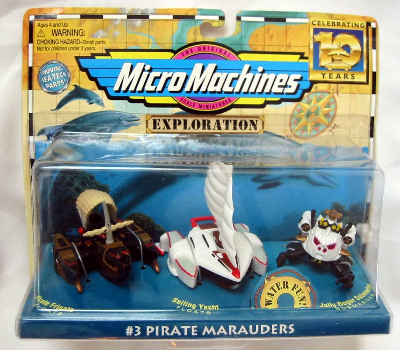 Micro Machines Exploration Pirate Marauders #3