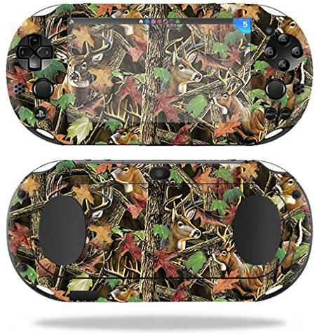 MightySkins Skin Compatible with Sony PS Vita (Wi-Fi 2nd Gen) – Buck Camo | Protective, Durable, and Unique Vinyl Decal wrap Cover | Easy to Apply, Remove, and Change Styles | Made in The USA