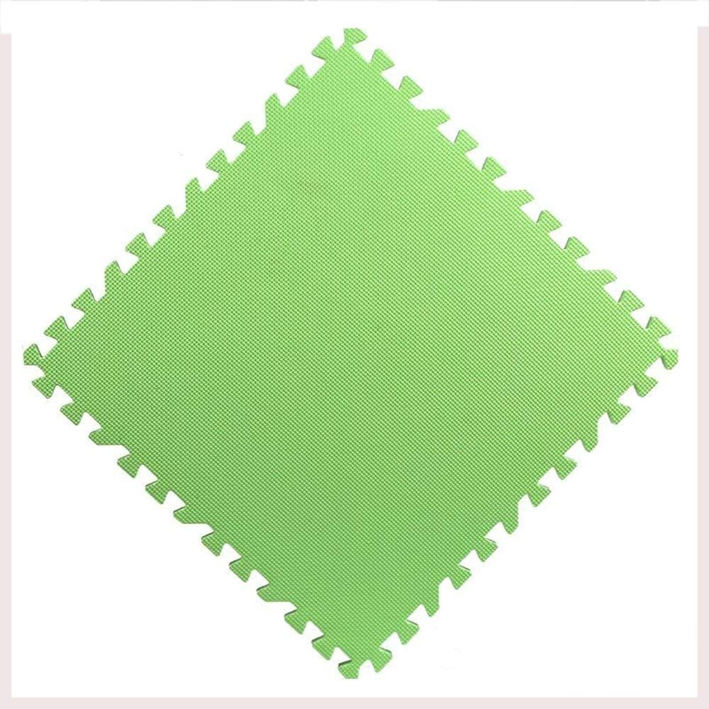 WYZBD Baby Play mat EVA Foam Tiles Puzzle mats for Crawling and Learning,Green,9PCS