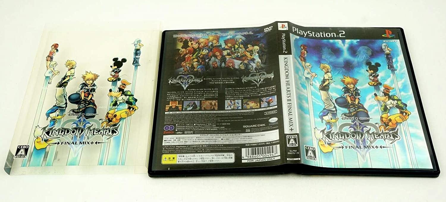 Kingdom Hearts II Final Mix+ (Limited Package Version) PS2 Japanese game