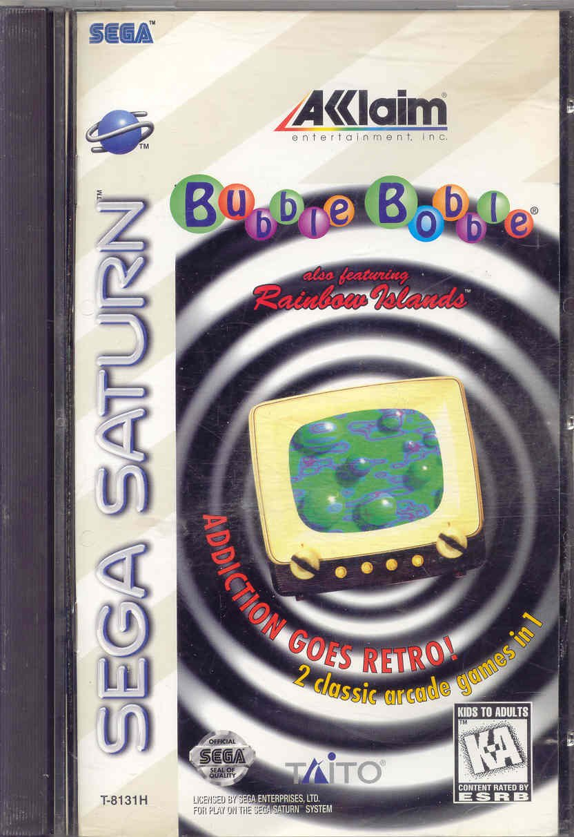 Bubble Bobble - Sega Saturn