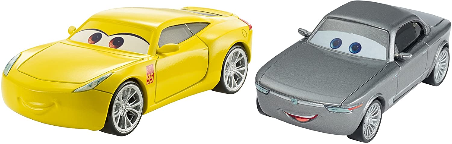 Disney Pixar Cars 3 Sterling & Cruz Ramirez Die-Cast Vehicle 2-Pack