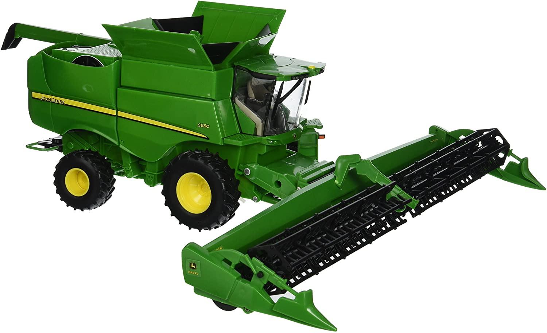 Big Farm S680 Combine Vehicle with Draper Head