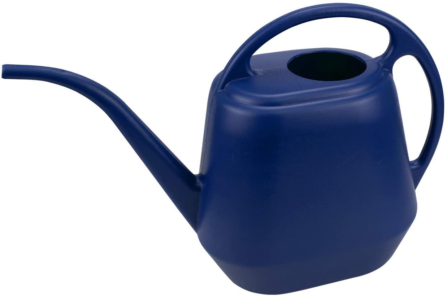 Fasmov Plastic Watering Can, 1-Gallon, Blue