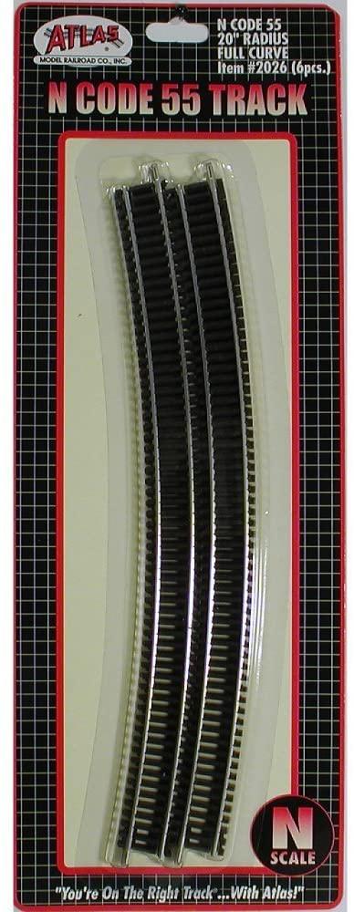 Atlas Track ATL2026 20 in. Radius Fill Curve