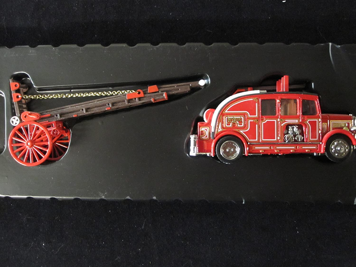 1936 Leyland Cub FK-& Fire Engine Matchbox Fire Engine Models of Yesteryear Series