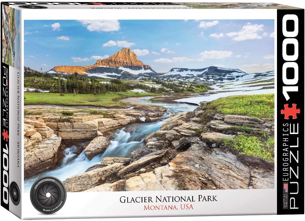 EuroGraphics Glacier National Park 1000-Piece Puzzle