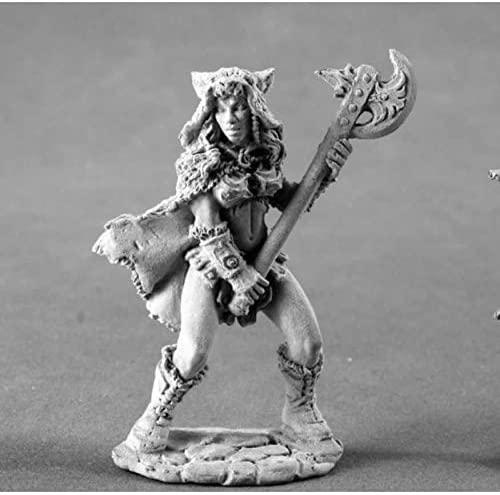 Kyrie Female Barbarian Miniature 25mm Heroic Scale Figure Dark Heaven Legends Reaper Miniatures