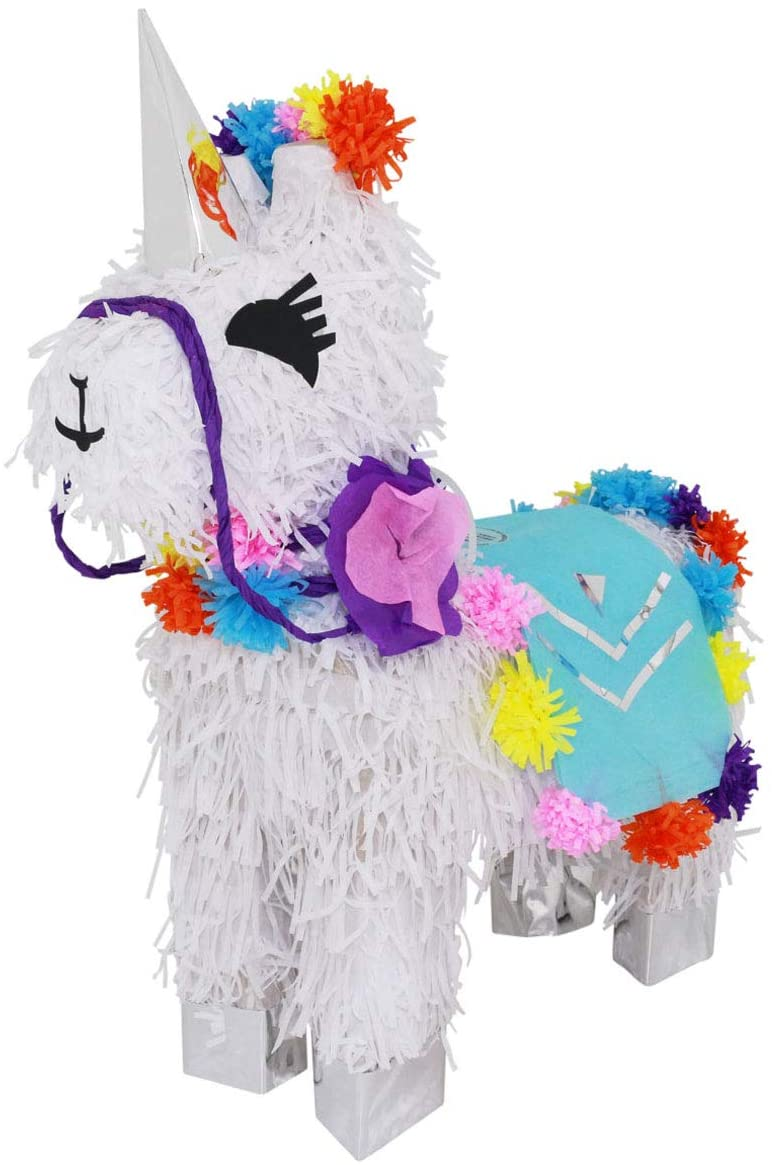 Unicorn Pinata, Happy Birthday Party Decorations, Supplies, Fantasy, Magical, Fairytail Themed Centerpieces, Decor, Cute Girly Piñata, Festive Outdoor Fun for Graduation Celebration, any Fiesta