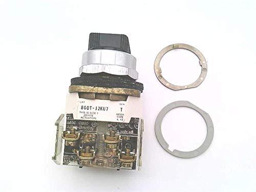 ALLEN BRADLEY 800T-J2KU7A KU7 CAM, Main NO/NC, 3POSITION, SELECTOR Switch