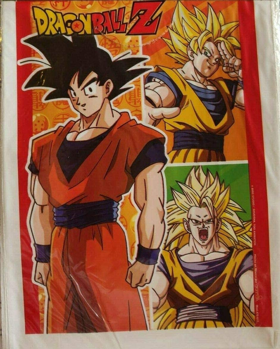 Dragon Ball Z Asian Boy Party Bags Loots Favors Treats Decoration Birthday Partyware Supplies 10 PCS