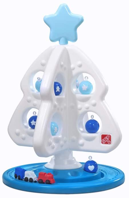 Step2 My First Christmas Tree   Snow Much Fun Christmas Tree Toy, White & Blue, Model:497699
