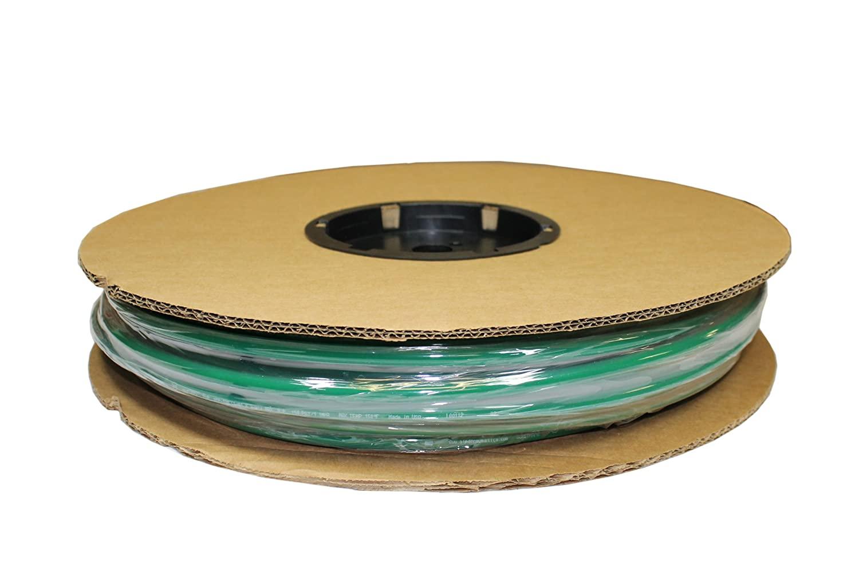 ATP Surethane Polyurethane Plastic Tubing, Green, 21/64 ID x 1/2 OD, 250 feet Length