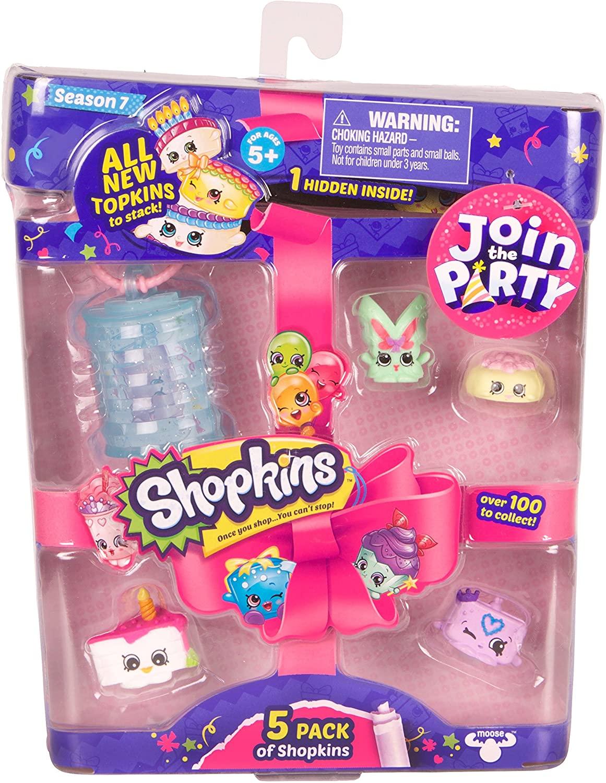 Shopkins S7 5Pk Toy