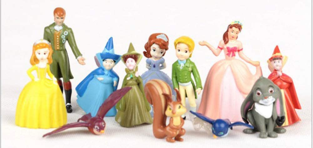 The Royal Family from Disney Junior's Sofia the First Mini Figures Cake Topper