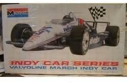 #2791 Monogram Valvoline March Indy Car 1/24 Scale Plastic Model Kit,Needs Assembly by Mongram