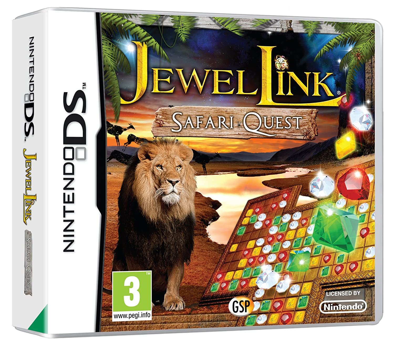 Jewel Link: Safari Quest DS