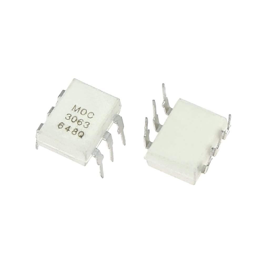 10PCS/LOT Original MOC3063 3063 DIP6 Driver Output Optocoupler IC
