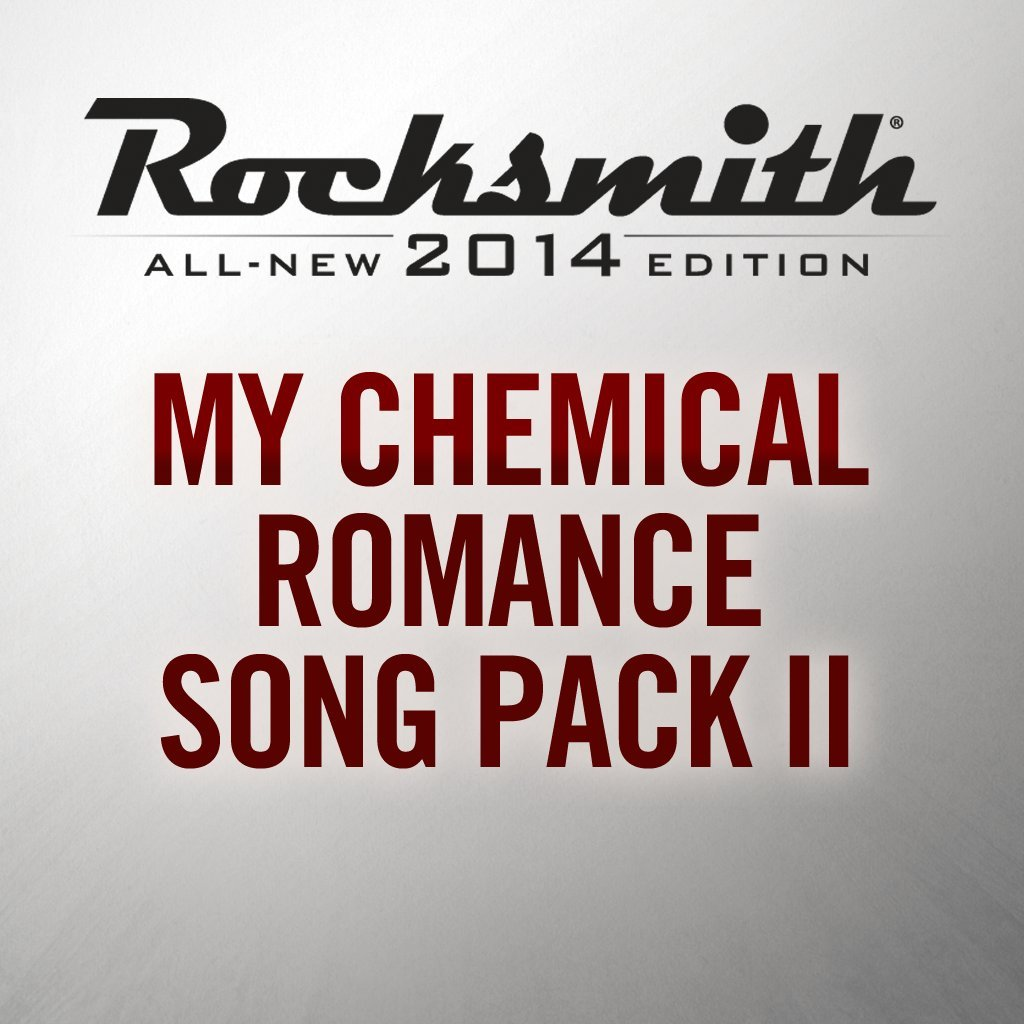 Rocksmith 2014 - My Chemical Romance Song Pack II - PS3 [Digital Code]