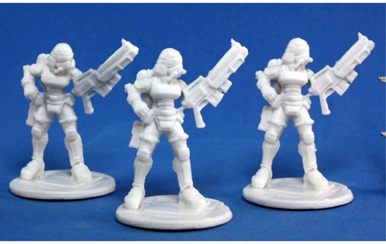 Nova Corp: Female (3) Miniature