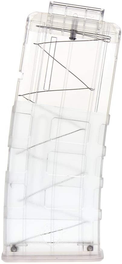 WORKER 12-Darts Magazine Clip Replacement for Nerf N-Strike Elite Toy Color Clear