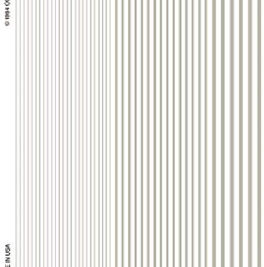 Woodland Scenics Stripes White Dry Transfer Decals