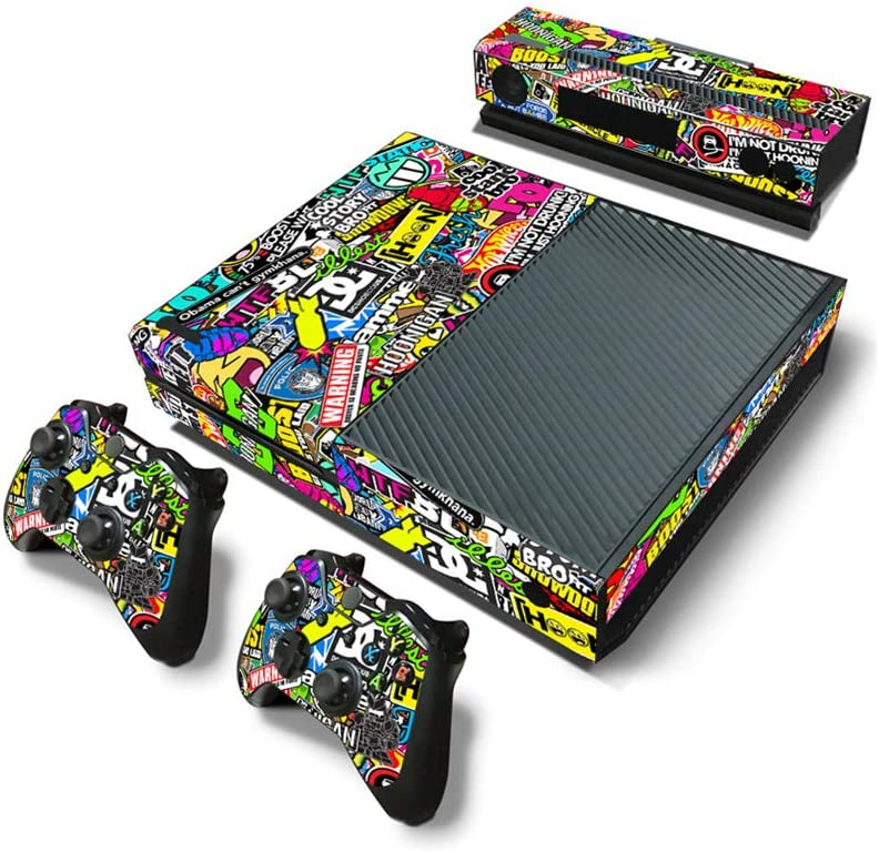 Vinyl Skin Sticker for Xbox One Console and 2 Controllers Full Cover Wrap Decal-Fashion