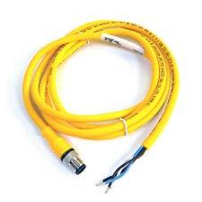TURCK ELEKTRONIK RKC 4.4T-1-RSC 4.4T/S1587/SV 1M, 4WIRE, U2-02118, EUROFAST Molded CORDSET, M12 Connector