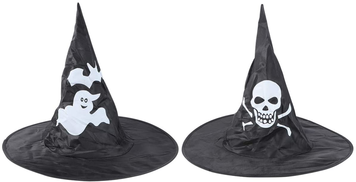 Amosfun Halloween Hat Witch Hat Spoof Cap Witch Costume Accessory Festival Hat for Halloween Children Party