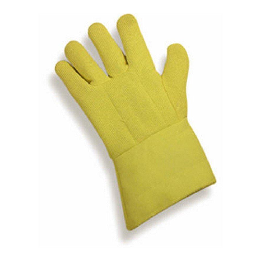Magid Glove & Safety G45RTRWKK12 Kevlar Terrycloth High-Heat Gloves, XL, Yellow