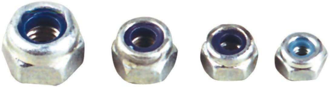 Jamara 177443 10 Pieces M3 Lock Nut, Multi Color