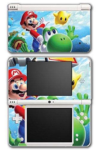 Super Mario Galaxy 2 Yoshi Flying Star Video Game Vinyl Decal Skin Sticker Cover for Nintendo DSi XL System